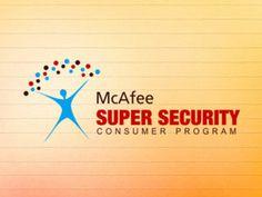 McAfee Super Security Logo Design