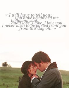 Pride and prejudice - seen a million times and still heart it even if I didn't agree with the Mr Darcy choice. Movie Quotes, Book Quotes, Pride And Prejudice 2005, Pride And Prejudice Quotes, Citations Film, Jane Austen Books, Movie Lines, Love Quotes For Her, Film Serie