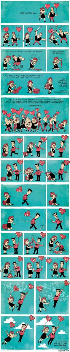 Love Is... - qm stories & news.