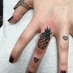 Say Aloha To These Cool Pineapple Tattoos | Tattoodo