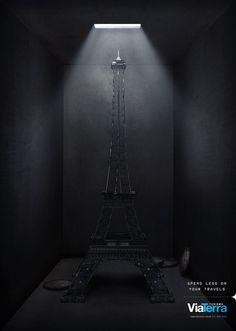 Via Terra Tourism: Eiffel tower