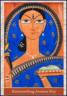 Shri Jamini Roy (Bengali: যামিনী রায়; 11 April 1887 – 24 April 1972) was one of the most famous pupil of Abanindranath Tagore, whose contribution to the emergence of modern art in India remains unquestionable. He preferred himself to be called a patua. He experimented with Kalighat paintings later expanding into village patuas.