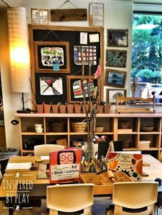 A beautiful Reggio Inspired classroom ~ The Maker Space is a really neat idea!