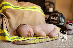 #Newborn #firefighter