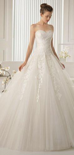 Allure Bridals Fall 2014 | bellethemagazine.com 637 117 8 Belle The Magazine Wedding Dresses myoneevent Great shot!