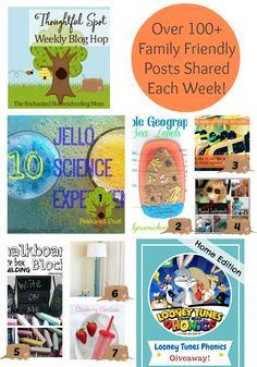 Welcome to another wonderful week of the Thoughtful Spot Weekly Blog Hop! A Thoughtful Spot Weekly Blog Hop is a place to gather every week to share your family friendly posts, crafts, educational ideas, recipes, and more! #bloghop - Enchanted Homeschooling Mom
