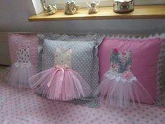 Cojines  bellos para adornar habitación de niñas