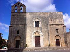 Tarquinia, Italy, Santa Maria in Castello church