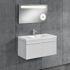 [neu.haus] Mobile da bagno con lavabo e specchio 301,40 €