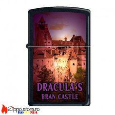 Zippo Romania-Dracula Bran Castle este o bricheta Zippo originala creata de Zippo Manufacturing Company special pentru tara noastra. Cu un finisaj negru mat, bricheta are reprezentata imaginea Castelului lui Dracula.
