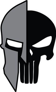 Spartan Helmet Silhouette Set Ilustración vectorial en stock ...