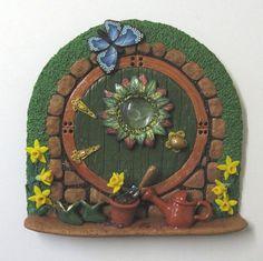 Springtime fairy door | by PatsParaphernalia