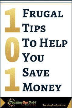 101 frugal ways to save money