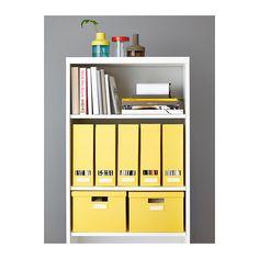 TJENA Arquivador - amarelo - IKEA