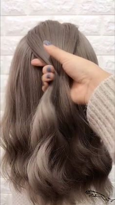 Braid hairstyle for Cute girl —Visit website to Get more braided hair tutorial braidstyles hairtutorial hairvideos braidedhair videotutorial dutchb. - Braid hairstyle for Cute girl —Visit website to Get more braided hair tutorial Easy Hairstyles For Long Hair, Cute Hairstyles, Wedding Hairstyles, Hairstyles Videos, Everyday Hairstyles, Beautiful Hairstyles, Braids For Wavy Hair, Haircut Wavy Hair, Natural Wavy Hairstyles