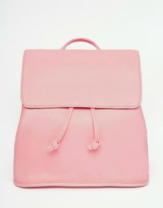 Buy Yoki Fashion Clean Backpack at ASOS. With free delivery and return options (Ts&Cs apply), online shopping has never been so easy. Get the latest trends with ASOS now. Snap Bag, Asos, Rucksack Bag, Big Bags, Pouch Bag, Fashion Backpack, Backpacks, Accessories, Coral Pink
