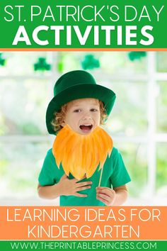 Are you needing fresh, engaging, and effective activities for your March lessons? You're in luck with these 8 St. Patrick's Day ideas for kindergarten, perfect for practicing new skills, spiral reviewing, and incorporating DIY St. Patrick's Day crafts and snacks into your lesson plans. #iteachk #kindergartenteacher #stpatricksdayactivities