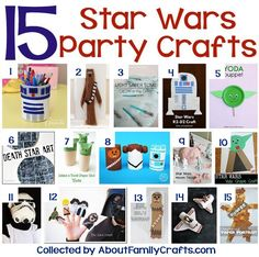 15 DIY Star Wars Party Crafts