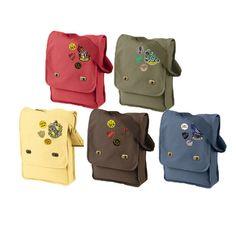 Custom Hogwarts House Messenger Bag by FanFash on Etsy, $40.00