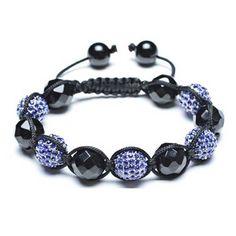 Disco bead bracelet