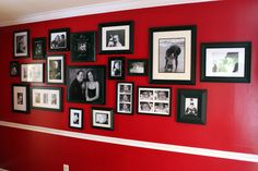 Decorating Tips for Family Photo Wall - Harris Sisters GirlTalk