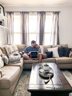 Home decor ideas. L-shaped couch ideas. Cozy home. Home. Home Decor Tips, Cozy House, L Shaped Couch, Living Room Decor, Home Decor, Farm House Living Room, Home Decor Accessories, Furniture, Apartment Decor