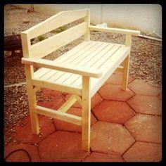 DIY Furniture : DIY Garden Bench