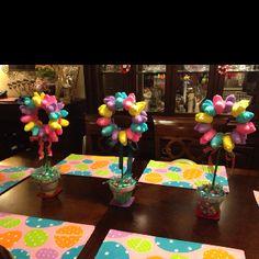 Potted Peep Flowers!