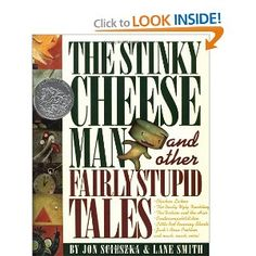 The Stinky Cheese Man gives us an irreverent look at some of our favorite classic fairy tales. The Gingerbread Man is the Stinky Cheese Man, The Really Ugly Duckling just grows into a Really Ugly Duck, and Little Red Riding Shorts manages to outrun the wolf on the way to Grandma's. The book is a bit chaotic, but it's legitimately clever and witty, too.