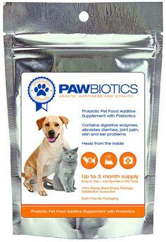 PawBiotics™ Advanced Regenerative Formula with Probiotics, Prebiotics and Digestive Enzymes