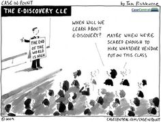 the eDiscovery CLE