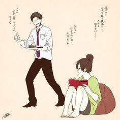 「「深町なか」のイラストで女の子ならだれでもきゅん!Twitterでも人気の理想のカップルがかわいすぎる」のまとめ枚目の画像