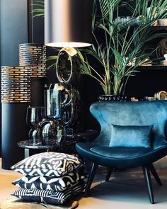 More pins like this -> Elegant Interior Designs ∘・゚ Living Room Modern, Living Room Designs, Living Room Decor, Luxury Homes Interior, Home Interior Design, Home And Deco, Luxury Living, Home Furniture, Decoration