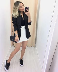 Best Winter Fashion Outfits Part 2 Blazer Outfits Casual, Cute Casual Outfits, Stylish Outfits, Winter Fashion Outfits, Look Fashion, Womens Fashion, Fashion Clothes, Trendy Fashion, Look Jean