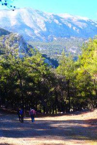Natuurwandelingen op Kreta in Neraidogoula
