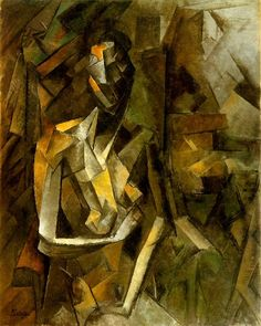 Femme nue assise 1909. Pablo Picasso (1881-1973)