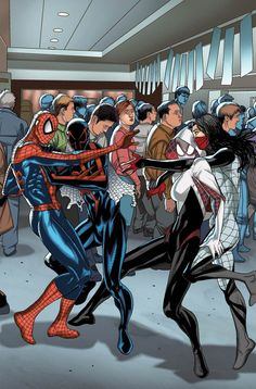 Amazing Spider-Man Vol 3 #13 Cover C Incentive Welcome Home Variant Cover (Spider-Verse Tie-In)