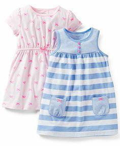Carter's Baby Girls' 3-Piece Dresses & Panty Set