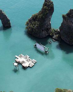 Archipelago Floating Cinema architect Ole Scheeren