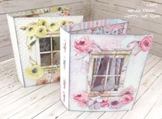 Head to Gerry's Craft Room on YouTube to se the full tutorial using FabScraps C105 Memory Lane Collection.