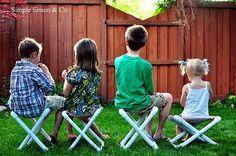 Someday Crafts: PVC Pipe Camp Chairs