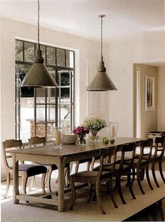 Suzanne Kasler-I've always wanted a huge farm table for spreading out projects & gathering friends and family
