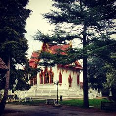 Buddhist temple in Wimbledon