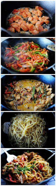 Amazing Stuffz: Cajun Chicken Pasta