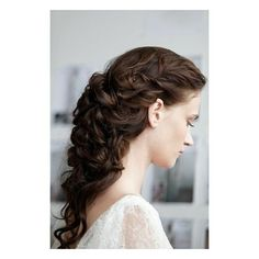 I HEART POLYVORE / HAIRSTYLES / Wedding day hair from the Marchesa... ❤ liked on Polyvore