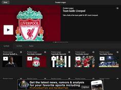 NBC streaming English Premier League football games via NBC Sports Live Extra app