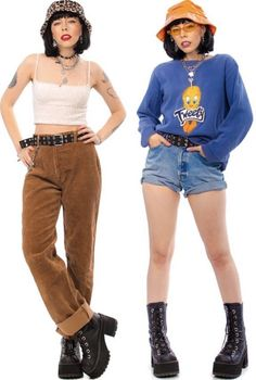 Indie Outfits, Retro Outfits, Cool Outfits, Fashion Outfits, Womens Fashion, Aesthetic Fashion, Aesthetic Clothes, Looks Hip Hop, Fashion Vestidos