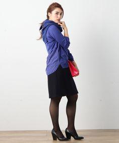WoolMilledJersey スカート / ICBの大きいサイズ 【公式通販】オンワード・クローゼット