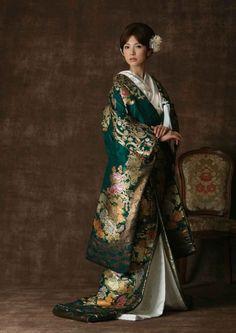 Kimono Wedding / 神前挙式衣装 | 神社で結婚式 / Shinto wedding costume