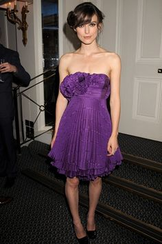 Keira Knightley in Erdem at the London premiere of The Edge of Love